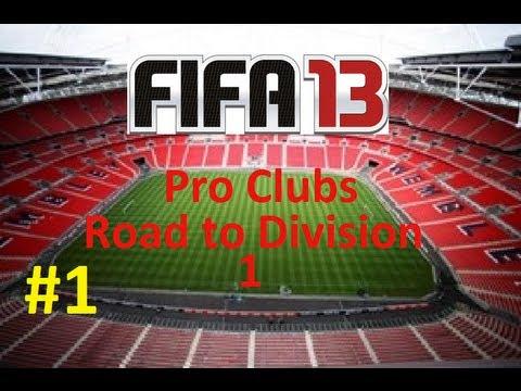 FIFA 13   Pro Clubs R2D1 #1 - Team Name?
