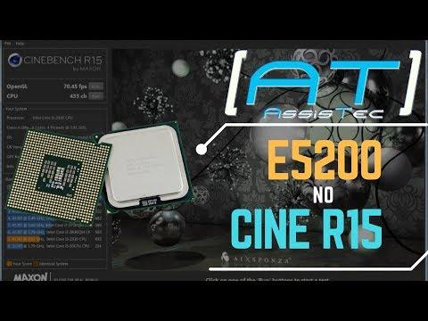 Benchmark Pentium E5200 Overclock 3.23 Ghz Cinebench R15