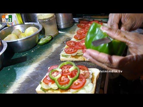 MAKING OF BUTTER VEG SANDWICH | Fresh Veggie Sandwich | | FOOD & TRAVEL TV