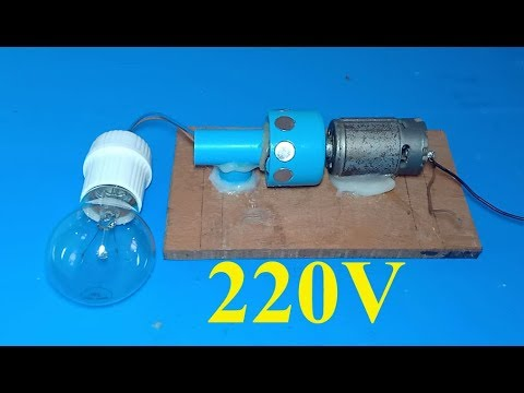 Engineering Free Energy Generator DC Motor With Copper Wire