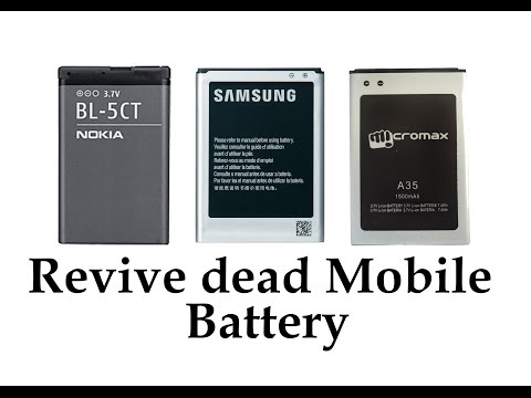 How to Revive a dead cellphone battery (Any Brand)