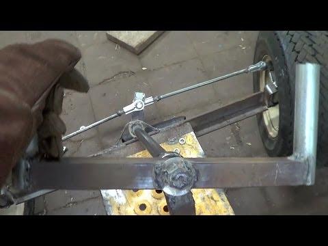 Homemade Shifter kart Steering Fab (part 3/3)