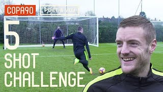 5 Shot Challenge with Jamie Vardy! ft. Poet & Timbsy