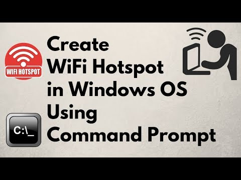How To Create WiFi Hotspot Using Command Prompt/cmd