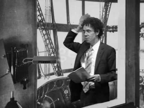 Malcolm Gladwell playing Zeppelin on a Theremin on a Zeppelin