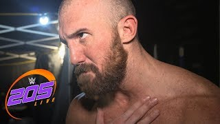 Drew Gulak and Oney Lorcan have a heated confrontation after their match: Exclusive, Aug. 13, 2019