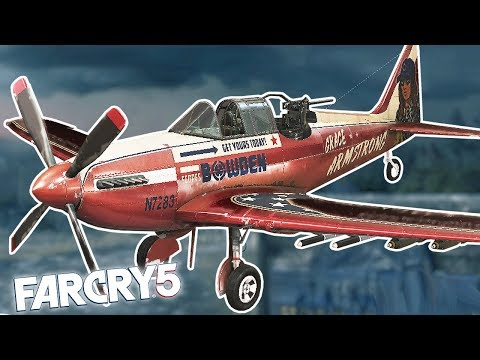 FAR CRY 5 NEW PLANE & SHARP SHOOTER CHALLENGE! Far Cry 5 Funny Moments & Fails!
