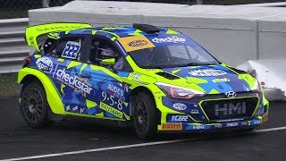Monza Rally Show 2017: Wednesday Tests - Hyundai i20 WRC, 997 GT3 R-GT, 124 Abarth Rally & More!