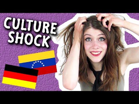 CULTURE SHOCK! | 1 German vs.  3 Venezuelans