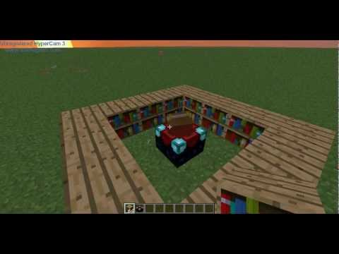 Minecraft Tutorial: How to make a level 30 enchantment table