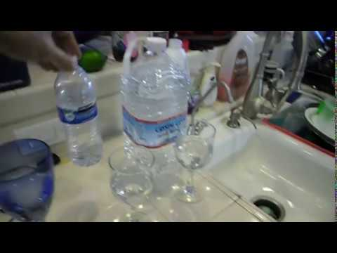 Water PH levels for Costco Pure Blue H2O RO system Vs Tap Vs Kirkland water Vs Crystal Geyser