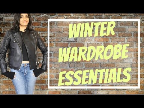 Winter Wardrobe Essentials | Basics That You Must Have In Your Winter Clothes Collection