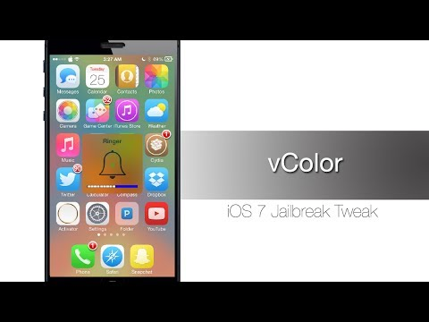 vColor - Cydia Tweak that changes the colors of your volume HUD - iPhone Hacks