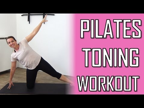 20 Minutes Total Pilates Workout for Toning – Pilates Exercise for Toned Muscles – At Home