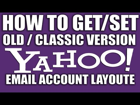 How to Get Previous Version or Classic Version of Yahoo Email Account - Yahoo Email Services