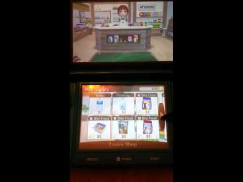 Nintendogs + cats on the Nintendo 3ds