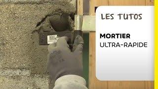 Mortier De Maçonnerie à Prise Ultra-rapide : Tutoriel Weber Mortier Chrono