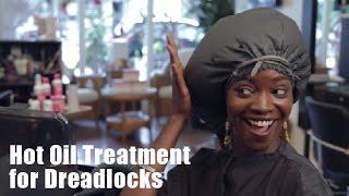 Hot Oil Treatment For Dreadlocks