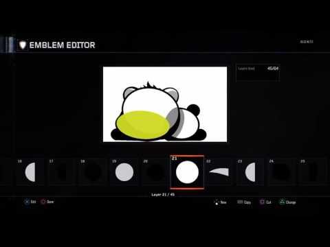 How To Make A Panda emblem (No music at 4:41)