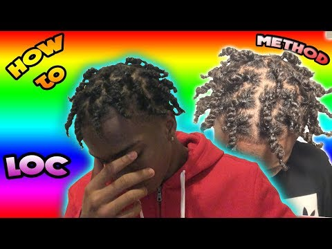 HOW TO: LOC Method (Moisturize) Natural Hair Tutorial