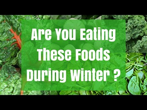 TOP 5 WINTER FOODS - STAY HEALTHY, STAY WARM