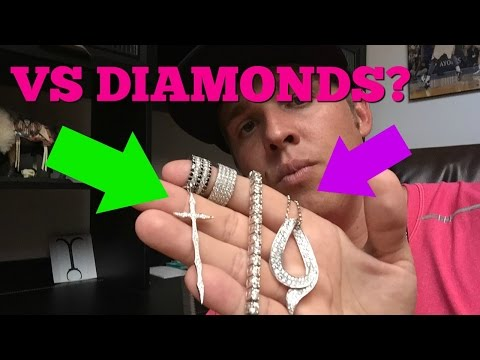 VS CLARITY DIAMONDS HYPE (REAL VS DIAMONDS?!)