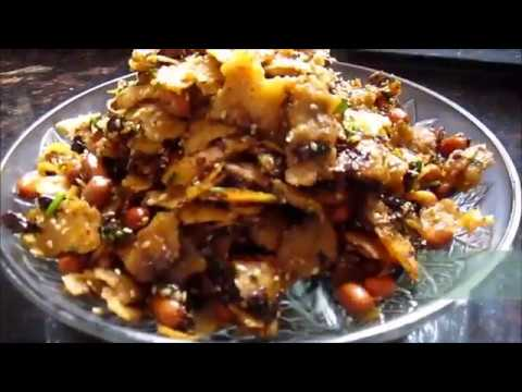 HOW TO MAKE POHA WITH LEFT OVER ROTI(CHAPATI )- with English subtitles