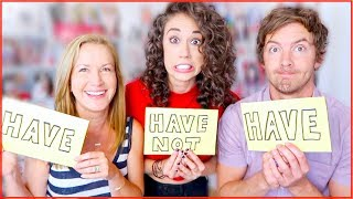 NEVER HAVE I EVER! // Haters Back Off Cast Secrets!