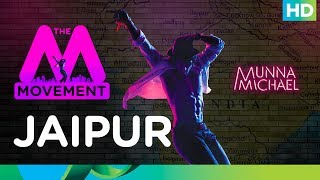 The M Movement | Tiger Shroff flags it off for Jaipur!