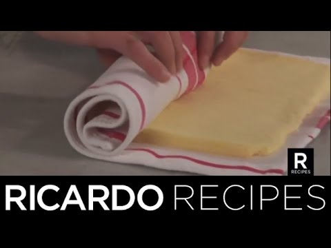 How To Roll A Jelly-Roll Cake | Ricardo Recipes