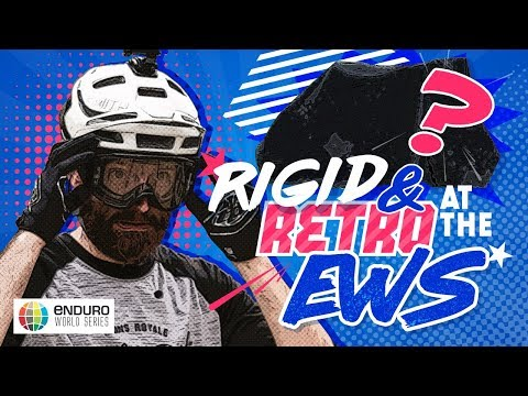 Rigid & Retro at the Enduro World Series!