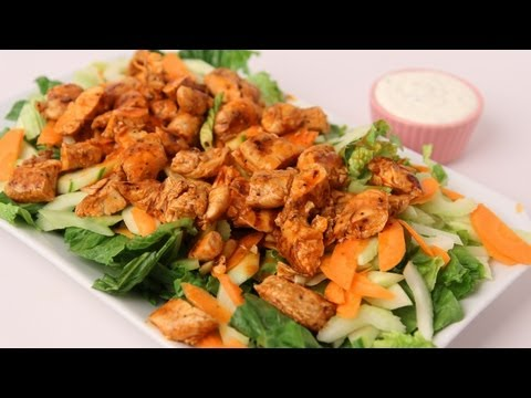 Buffalo Chicken Salad Recipe - Laura Vitale - Laura in the Kitchen Episode 423