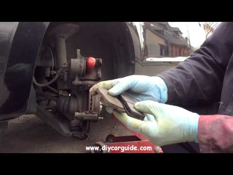 Suzuki Alto (7th generation) Front Brake Pads Replacement
