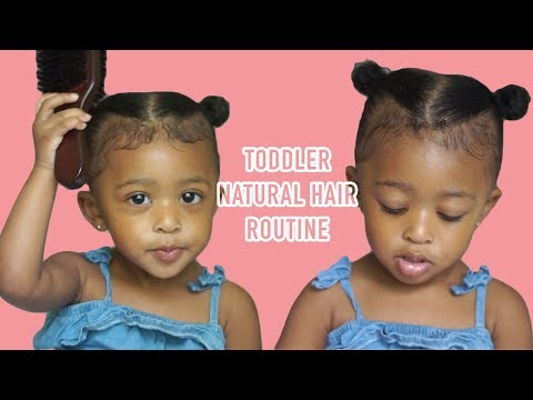 Toddler Curly Hair Routine   Summers Natural Hair