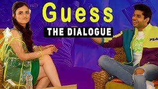 Guess the Dialogue With Radhika Madan &  Abhimanyu Dassani