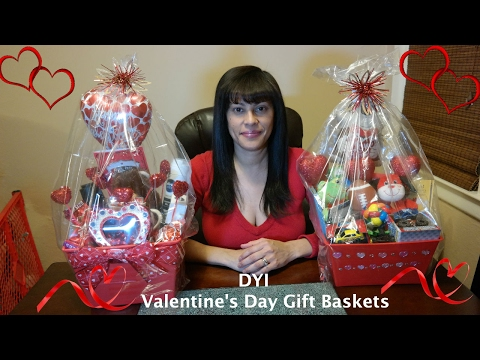 Valentine's Day Gift Baskets DIY