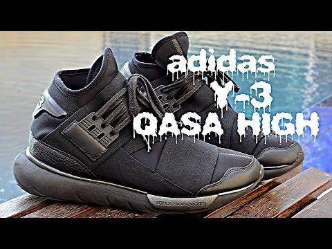 faaf39257ae2f Adidas Y-3 Yohji Yamamoto Qasa High Review + On Feet