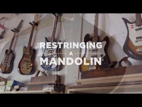 D'Addario Core: How to Change the Strings on a Mandolin