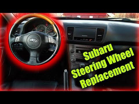 Subaru Steering Wheel Replacement