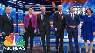 2020 Democratic Presidential Debate | NBC News (Live Stream Recording)