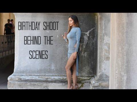 BIRTHDAY SHOOT : Behind the scenes