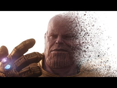 How to Create DUST EFFECT From INFINITY WAR - Photoshop Disintegration Effect Tutorial
