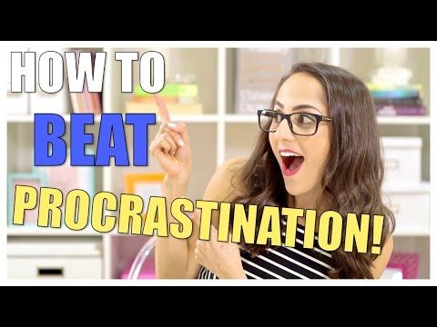 10 Tips To BEAT Procrastination!