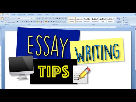 How To Write a Great Essay - College Essay School Tips