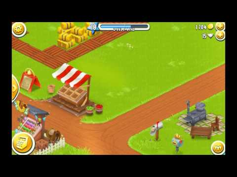 Some tips to cut trees,stone and lakes very fast in hay day