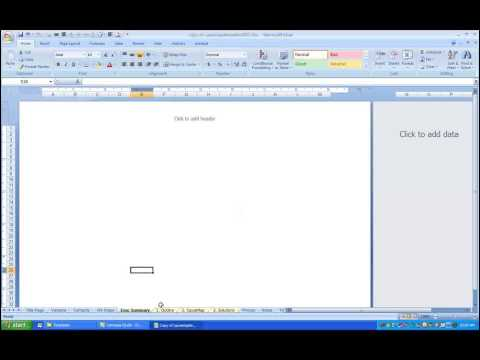 Advanced Cause Mapping Tools in Excel 2007 & 2010: Creating an Executive Summary