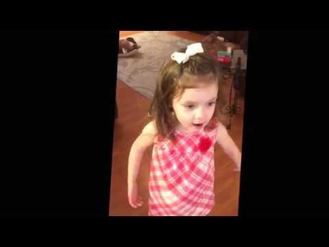 My 2 year old granddaughter doing here version of Zakk Wyldes Hello
