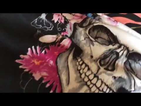 Sandyshow Day Of The Dead Skull Bedding