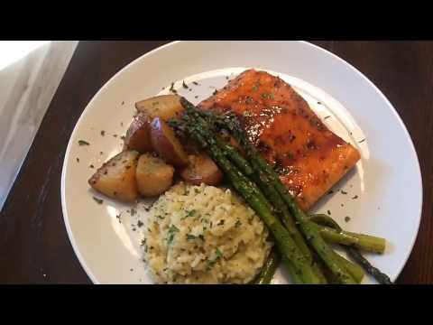 Salmon Recipe | Healthy Dish Honey Glazed Baked Salmon