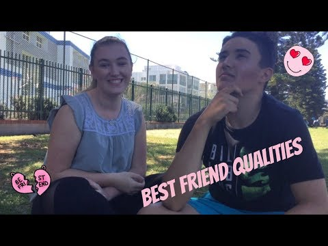 Qualities in a friendship